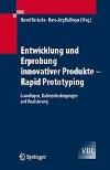 Buchcover Entwicklung und Erprobung innovativer Produkte - Rapid Prototyping